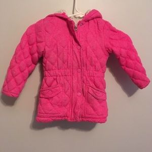 Me Jane Baby pink lined coat 4T